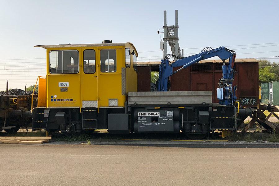 Noleggio mezzi ferroviari - Recuperi Srl