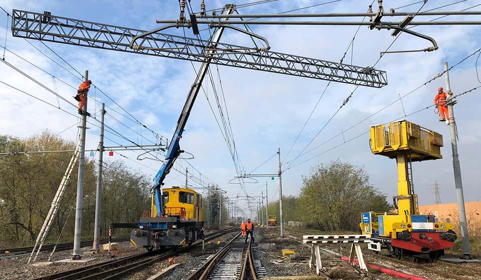 Qualità lavorazioni ferroviarie - Recuperi Srl
