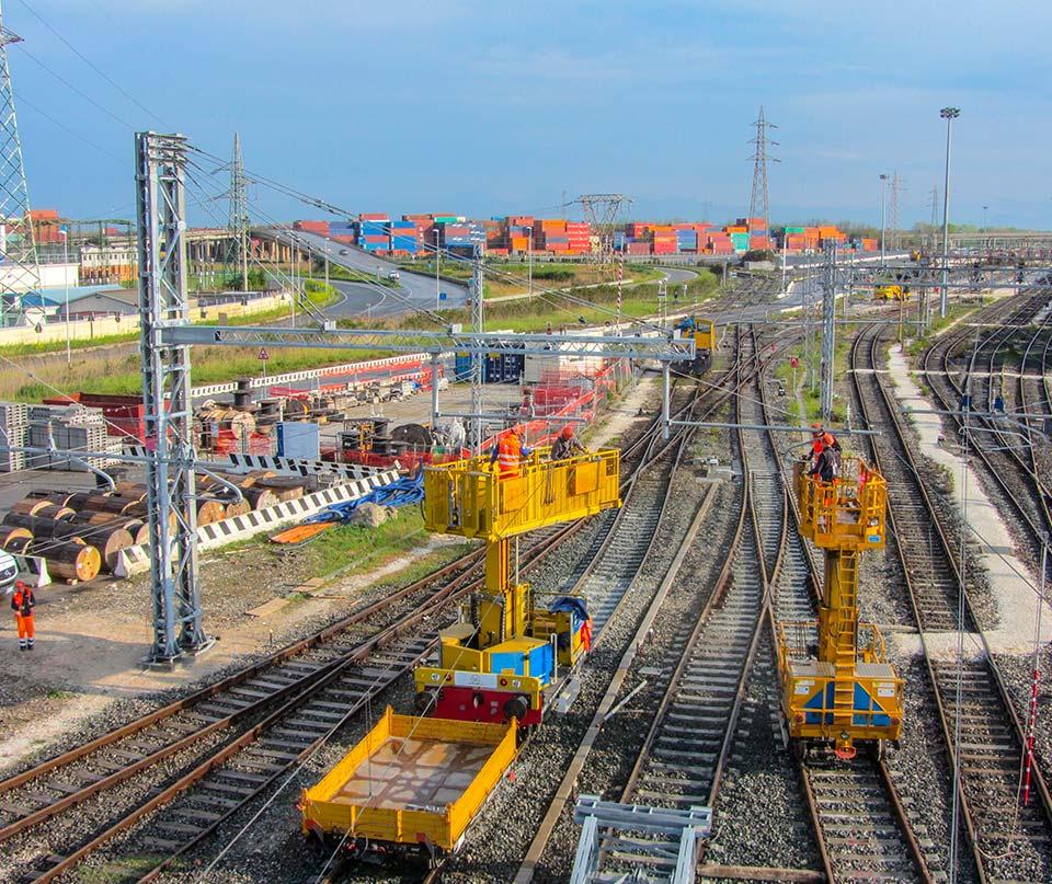 lavorazioni ferroviarie
